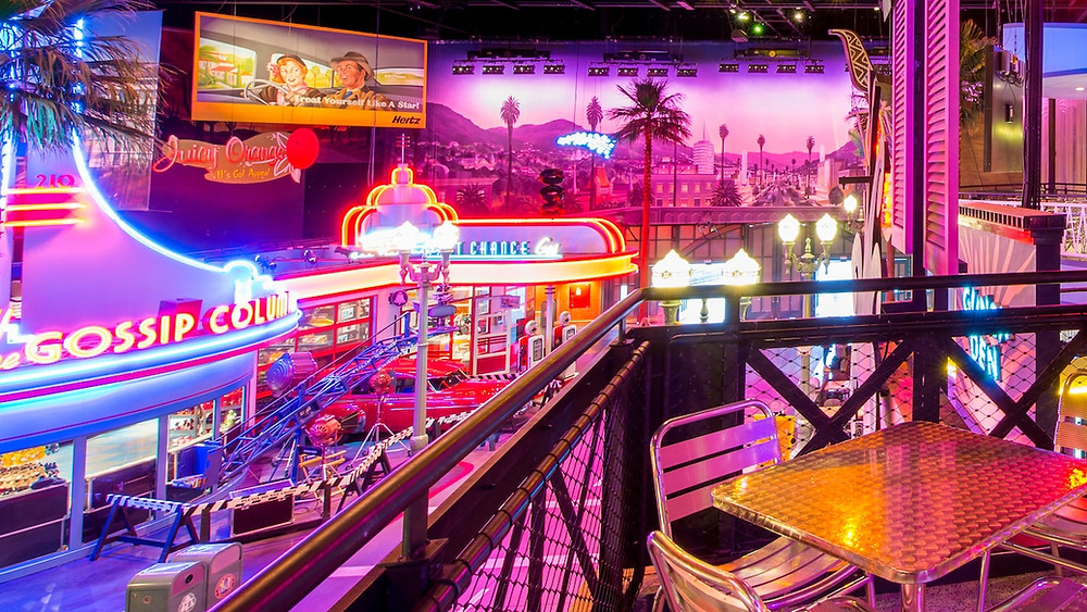 Restaurant en Coulisse Walt Disney Studios