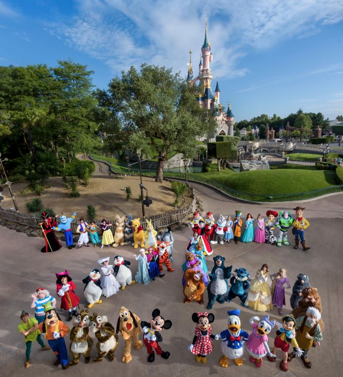 Personajes Disney Disneyland Paris