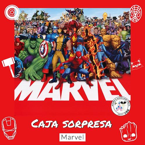 Caja temática de Marvel