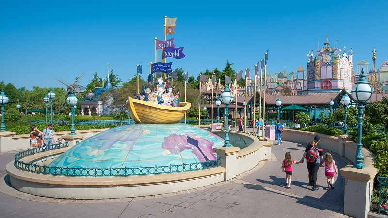 It's a small world en Disneyland Paris