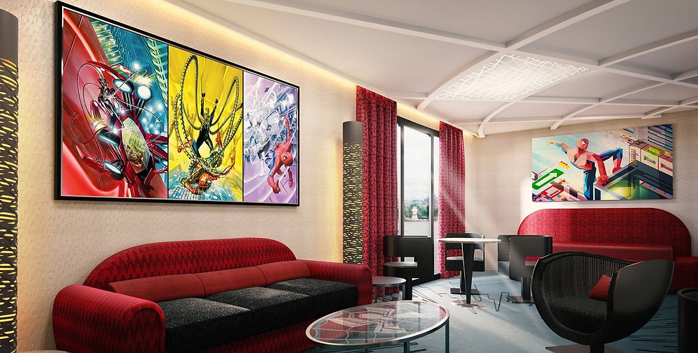 Hotel New York: The art of Marvel Disneyland Paris