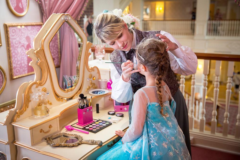 Princesa por un día en Disneyland París