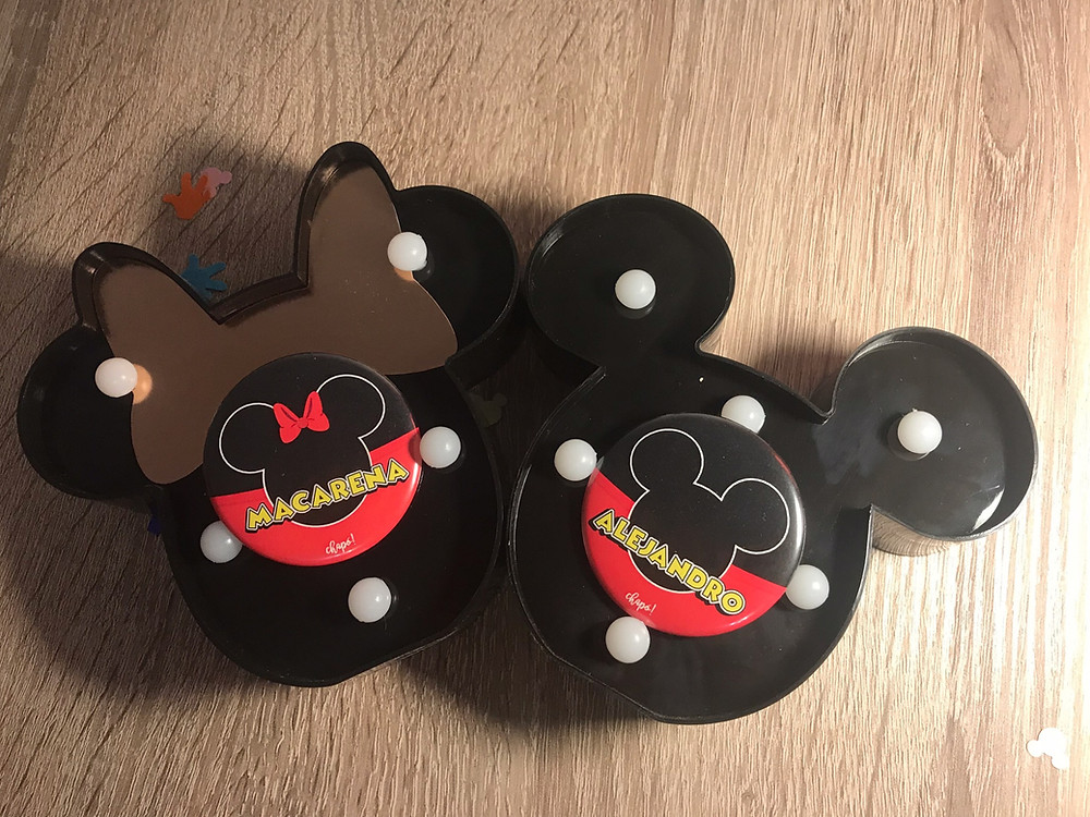 Chapas Disney viajes Disneyland Paris