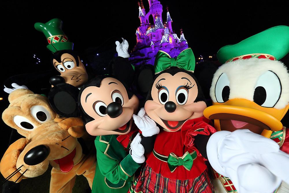 año nuevo noche vieja fin de año en Disneyland Paris