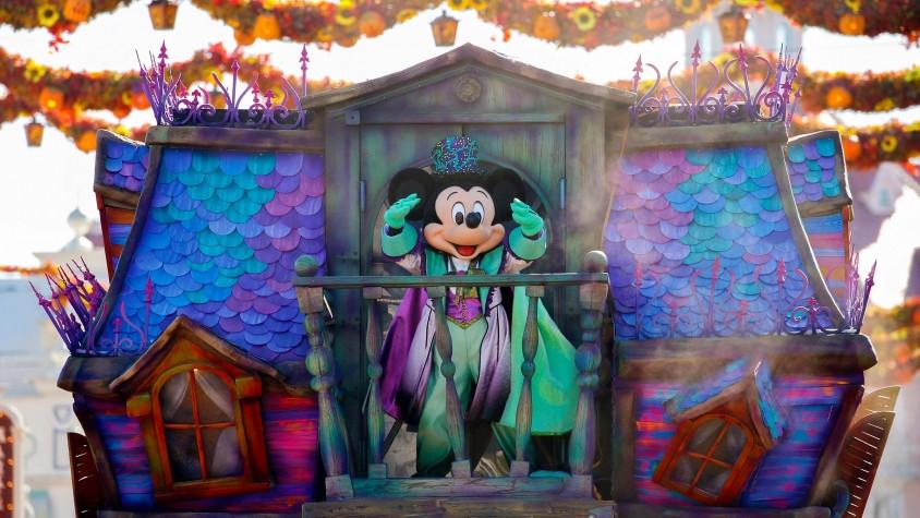 Halloween llega a Disneyland Paris