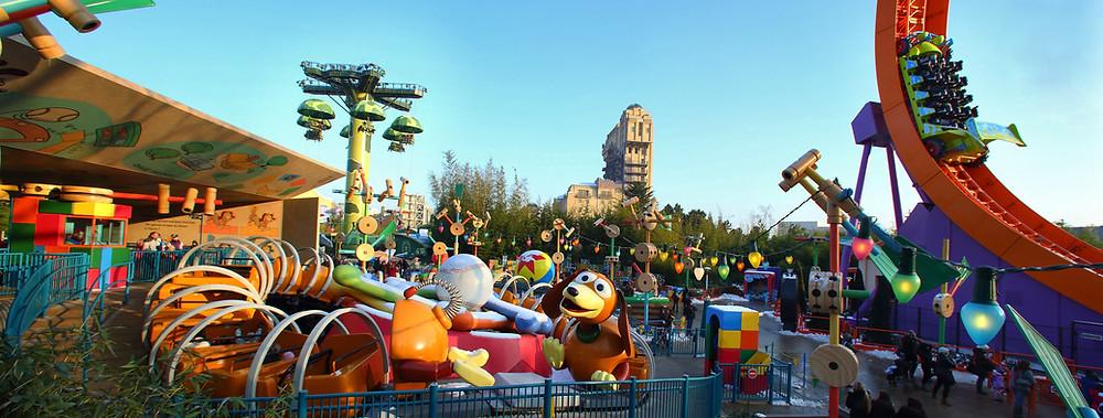 Atracciones para niños en Disneyland Paris