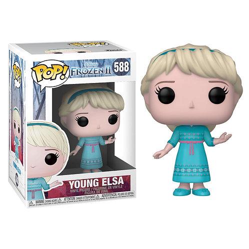 Figura POP Young Elsa Frozen 2