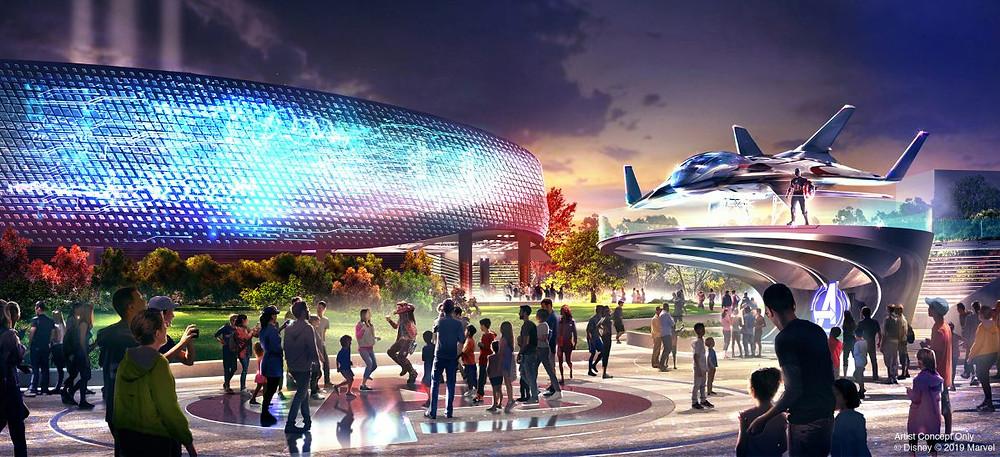 Nuevas atracciones de Marvel en Disneyland Paris