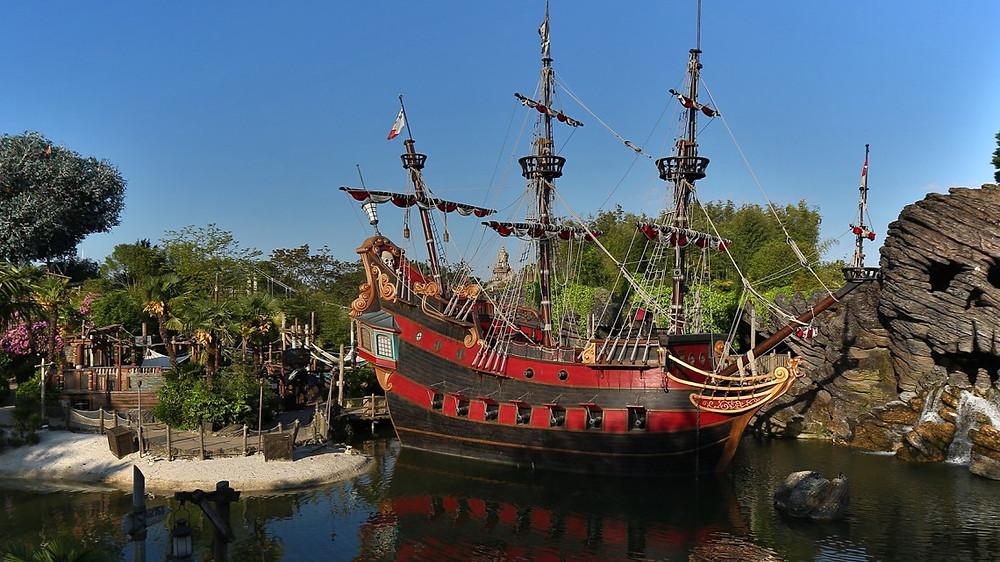 Pirates' Beach en Disneyland Paris
