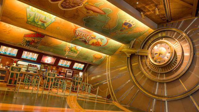 Cafe Hyperion Disneyland Paris