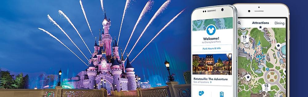 Aplicación móvil Disneyland Paris Consejos