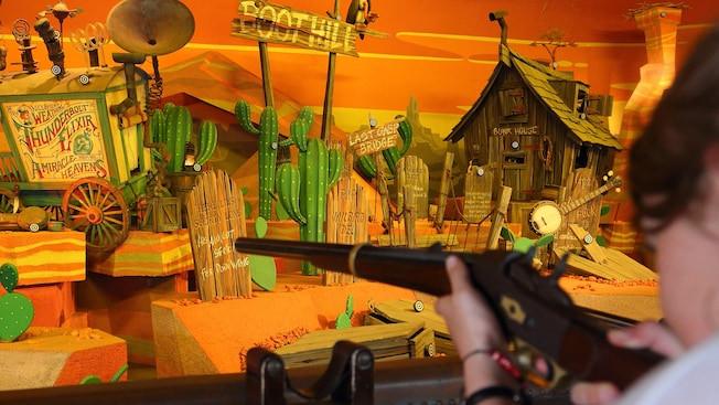 Rustler Roundup Shootin' Gallery en Disneyland Paris