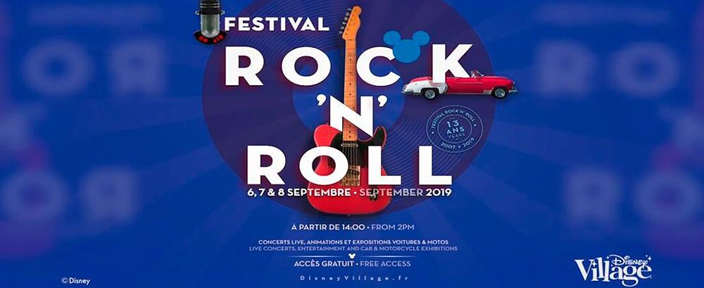 Festival Rock'n'Roll en Disney Village en Disneyland Paris