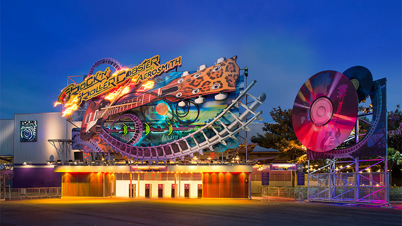 Rock 'n' Roller Coaster starring Aerosmith Disneyland Paris