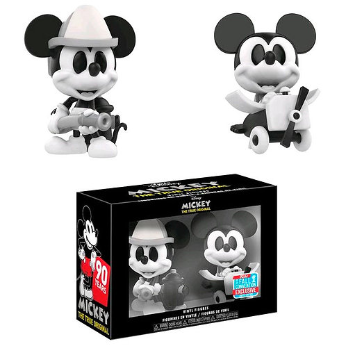 Figuras Mini Vinyl Mickey Blanco y Negro