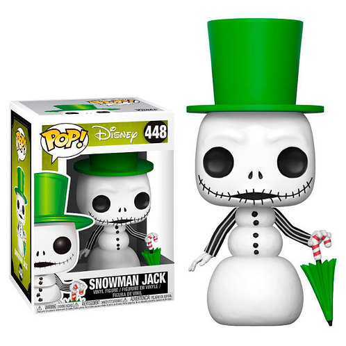 Figura POP Snowman Jack Pesadilla Antes de Navidad