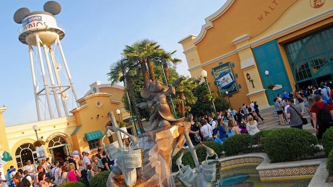 Walt Disney Studios: expansión y cambios Disneyland Paris