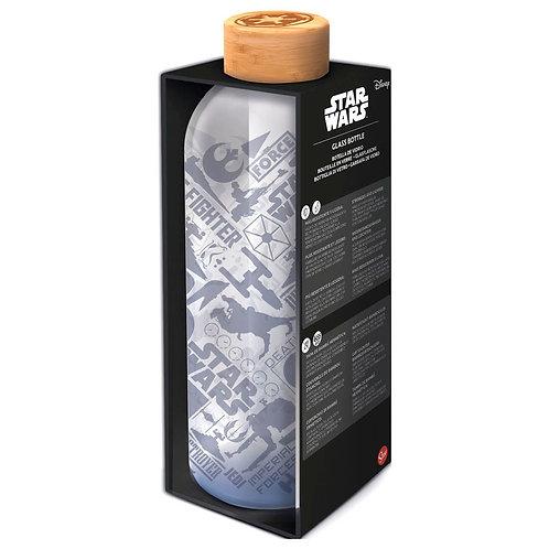 Botella cristal Star Wars 1030ml