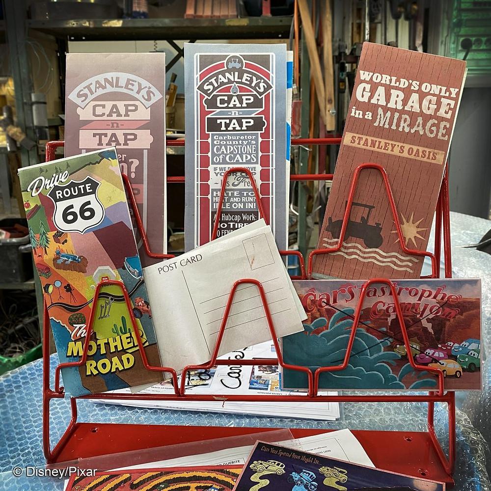 Cars Road Trip Walt Disney Studios Disneyland Paris