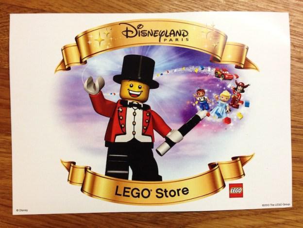 La Tienda Lego de Disneyland París