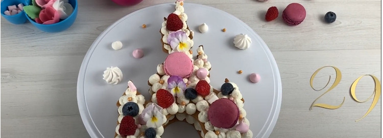 La tarta del 29 cumpleaños de Disneyland Paris: receta
