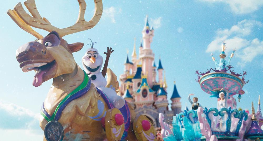 Nueva temporada de Frozen en Disneyland Paris: Frozen Celebration
