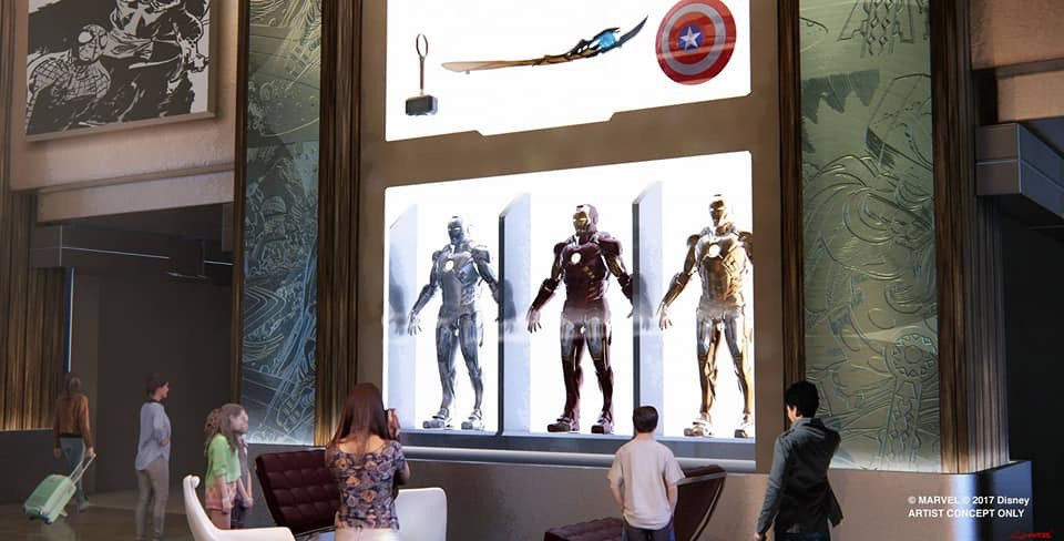 Secretos del Disney's Hotel New York - The Art of Marvel Disneyland Paris