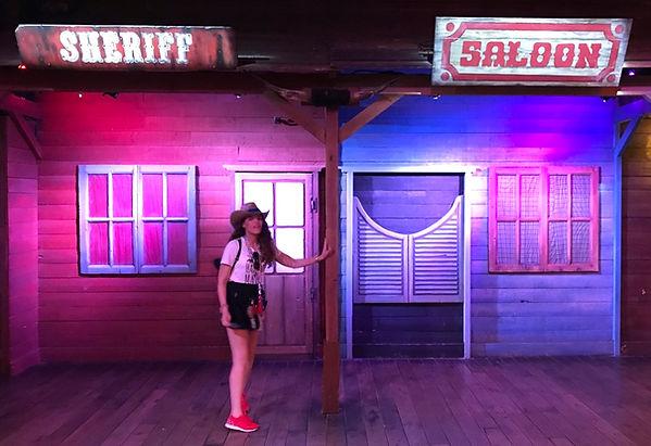 Cenar en Buffalo Bill's Wild West Show Disneyland Paris Resturante Village