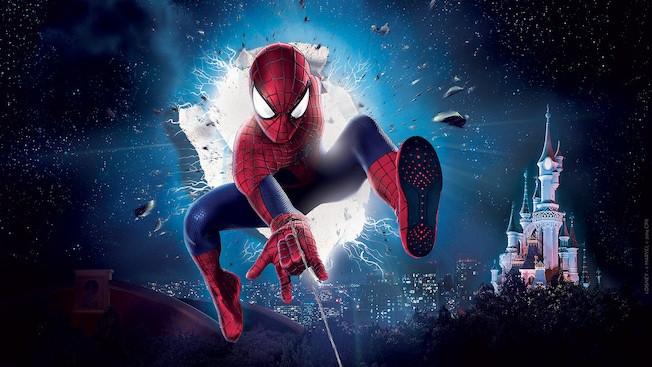 Meet Spider-Man en Disneyland Paris