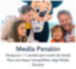 Comer cenar en Disneyland Paris ofertas ahorro viaje Disney Media Pension Completa restaurantes comida cena Media Pensión Pensión Completa
