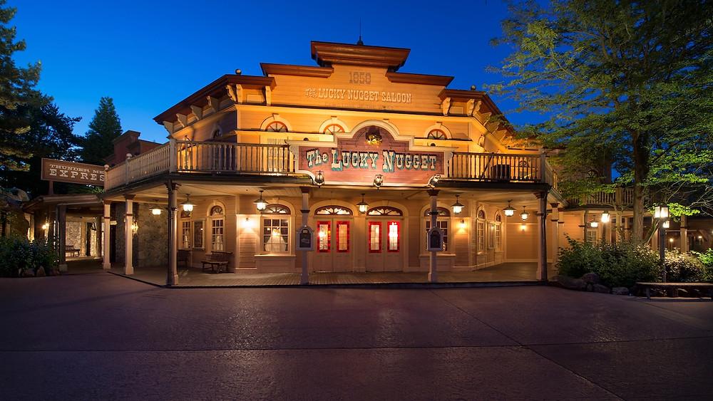 The Lucky Nugget Saloon Disneyland Paris