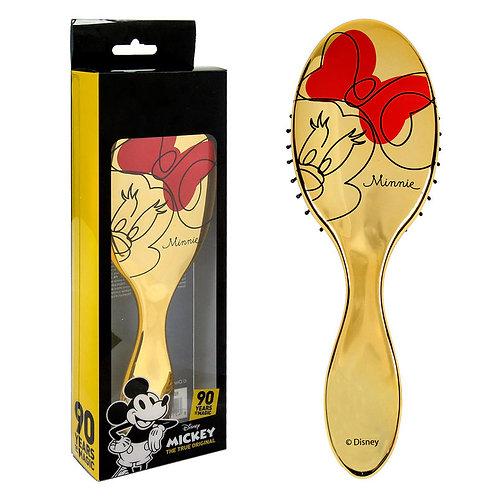 Cepillo de pelo Minnie dorado
