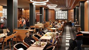 Downtown Restaurant en el Hotel New York - The Art of Marvel