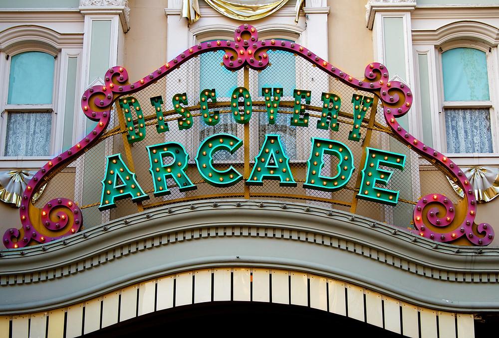 Discovery Arcade en Disneyland Paris