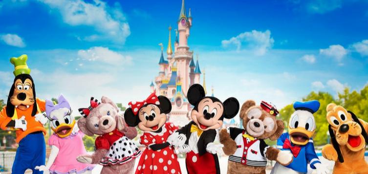 Viajar a Disneyland Paris con niños pequeños