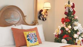 Tu habitación decorada de Navidad en Disneyland París
