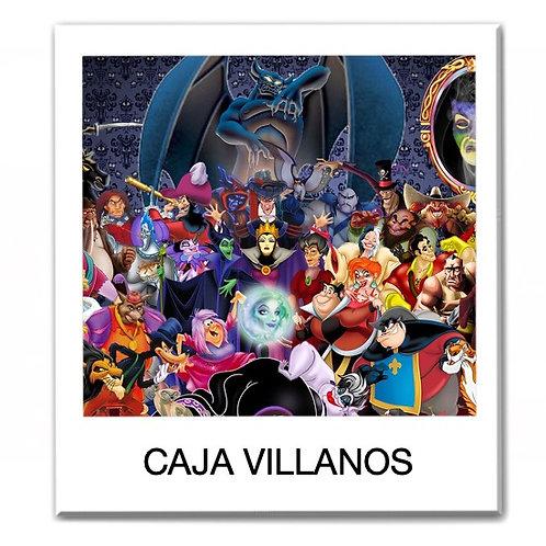 Caja temática de Villanos