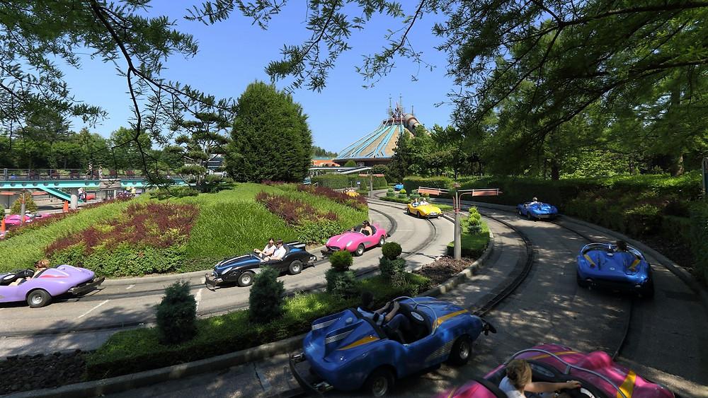 Autopia atracciones Disneyland Paris