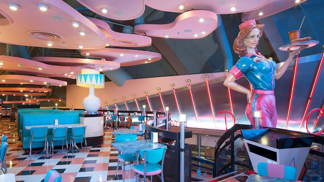 Annette's Diner en Disney Village