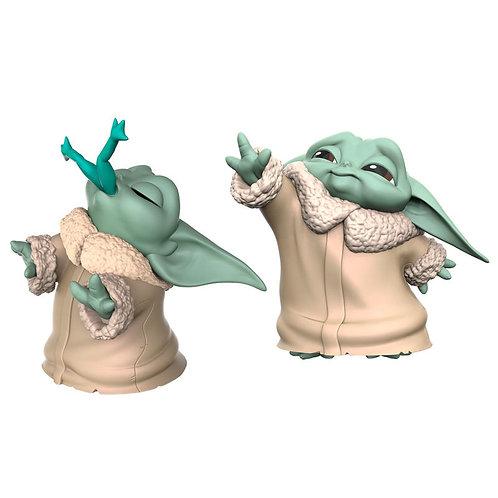 Pack 2 figuras Yoda The Child