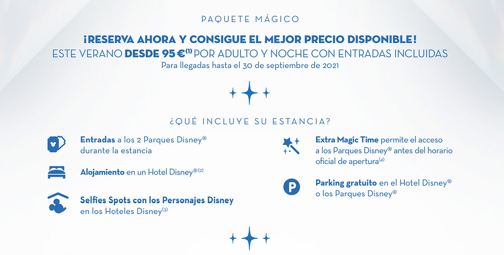 Semana Mágica Disneyland Paris 2021 Viajes El Corte Inglés