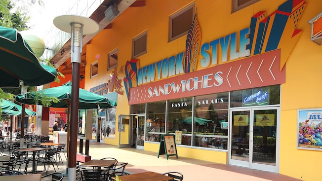 New York Style Sandwiches en Disney Village