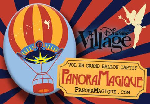 PanoraMagique en Disney Village Disneyland Paris
