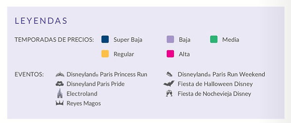 Temporada baja Disneyland Paris ofertas viaje ahorrar consejos informacion