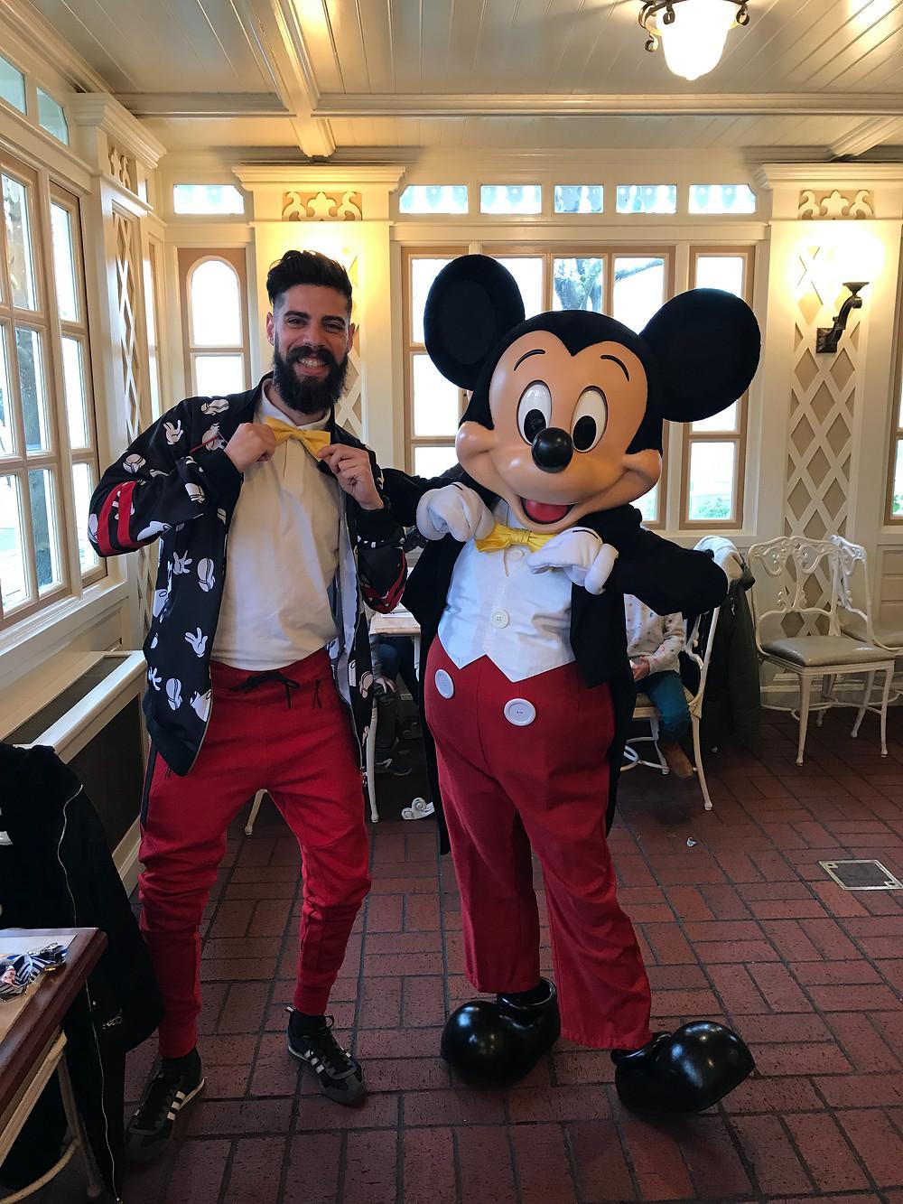 Disney Bound en Disneyland Paris Mickey Minnie Mouse