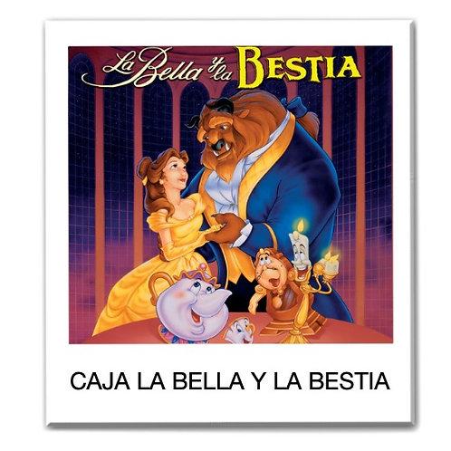 Caja temática de La Bella y La Bestia