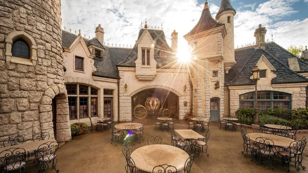 Auberge de Cendrillon en Disneyland Paris