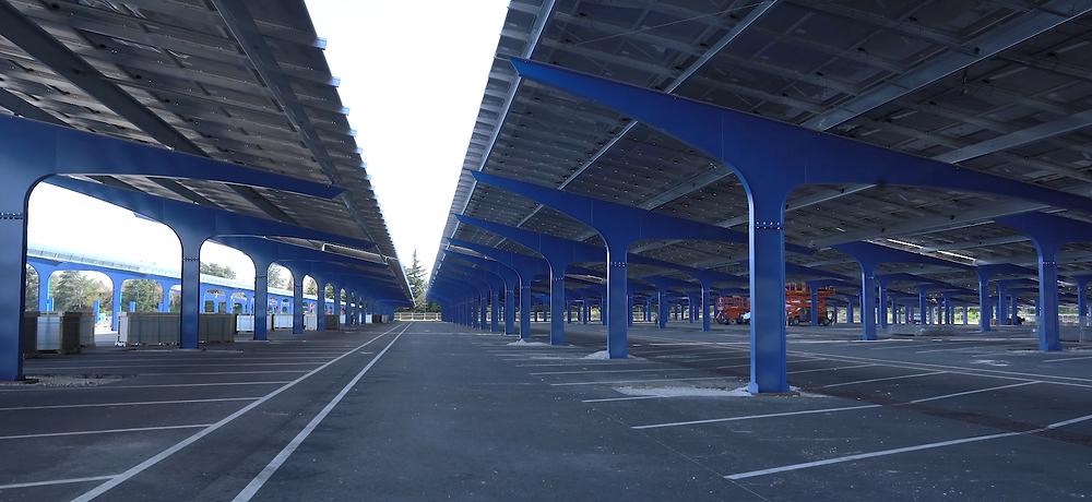 Parking solar en 2023: nuevo proyecto de Disneyland Paris