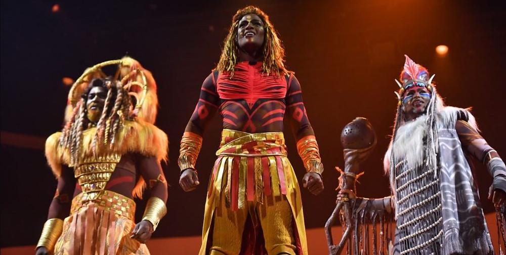 """Nuevo espectáculo """"El Rey León y los Ritmos de la Tierra"""" en el Frontierland Theater"""