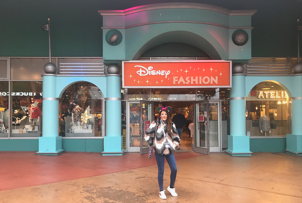 La tienda Disney Fashion de Disneyland Paris Culture Vintage